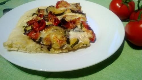 PIZZA AUX SAVEURS ITALIENNES