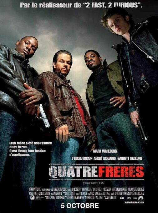 QUATRE FRERES BOX OFFICE FRANCE 2005