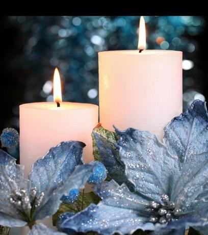 Bougies de Noël Série 11