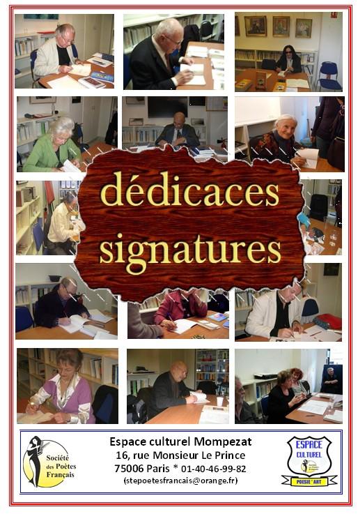 Dédicaces/Signatures