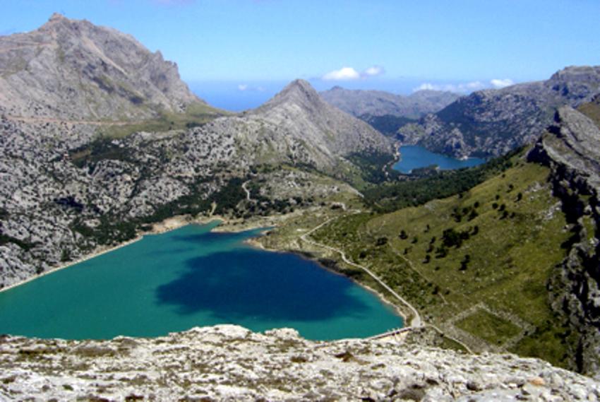 lac de cuber et Gorg Blau réservoir  - Majorque