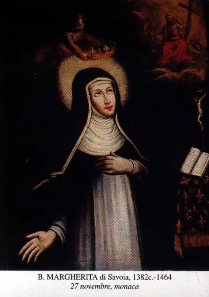 Bienheureuse Marguerite de Savoie. Tiers-Ordre de Saint Dominique († 1464)
