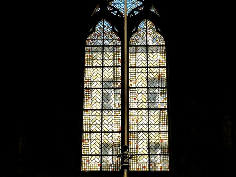 Metz / L'exposition Mise en Abyme à la basilique Saint-Vincent...