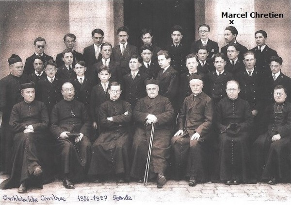 * Page souvenir - Marcel CHRETIEN un Saint-cyrien-résistant parmi d'autres - Ancien du B.M.5 de la 1ere DFL