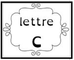 La lettre c