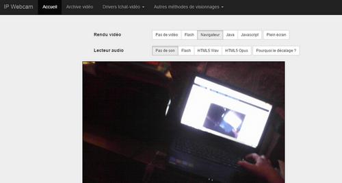 Un visualiseur gratuit en classe avec Ipcam