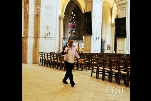 Dans les entrailles de Notre-Dame...De Verdun. (Frédéric Plancard)