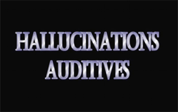 hallucinations auditive