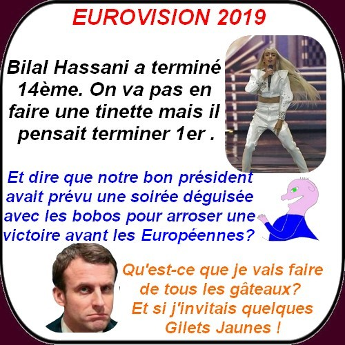 Nos élus, Macron et cie, etc....ce sont les petites infos du lundi.
