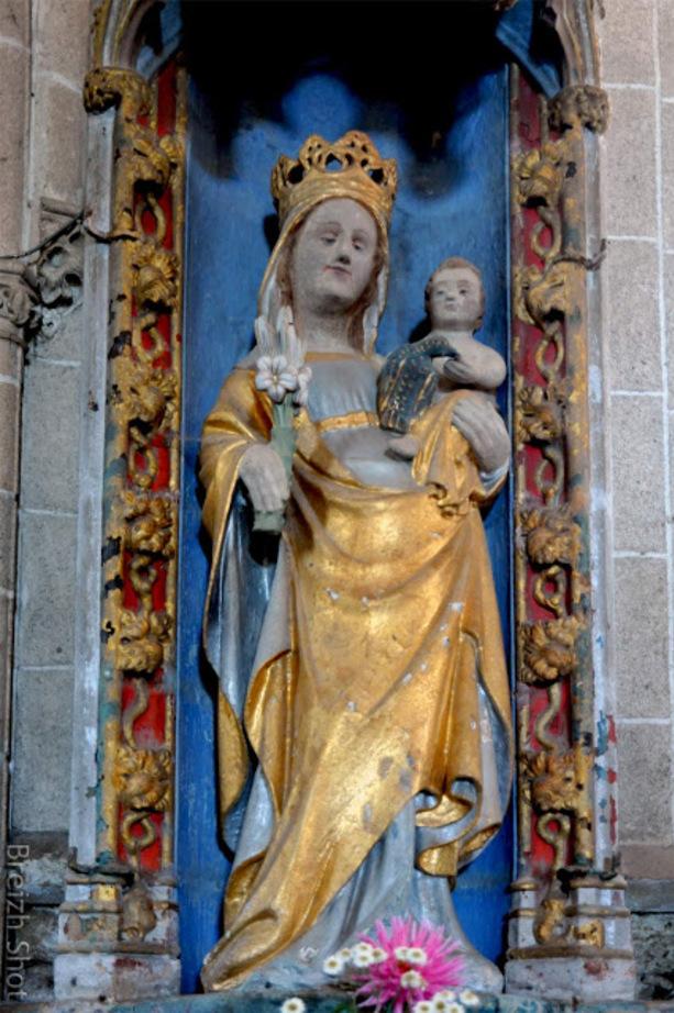 Kersnacléden : Vierge à l'enfant