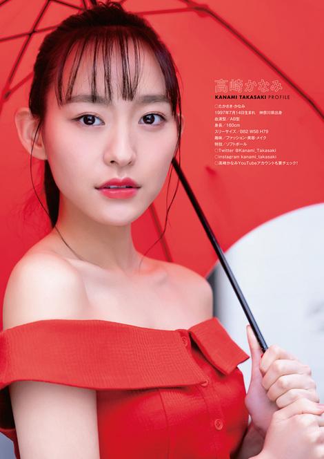 Magazine : ( [Young Animal] - 2021 / N°8 - Kanami Takasaki, Ayuna Nitta & Shiro Shiroka Staring )