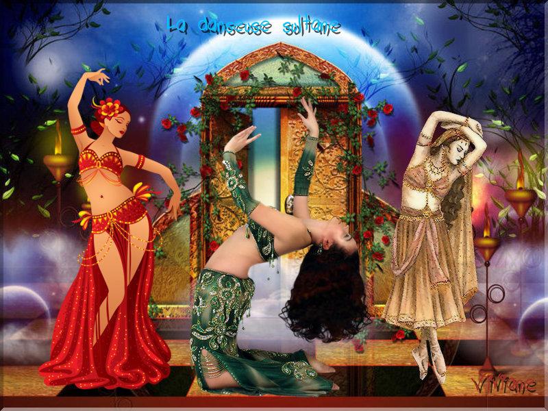La danseuse sultane défi de Marjolaine