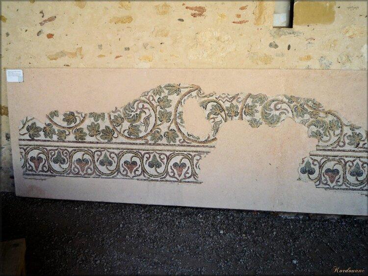 Exposition de mosaïques antiques à l'Abbaye d'Arthous