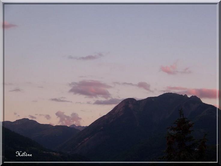 """mercredi soir à 9 h 45 """" ciel embrasé"""