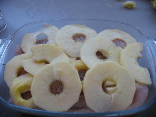 Gratin de Cabillaud aux 2 pommes
