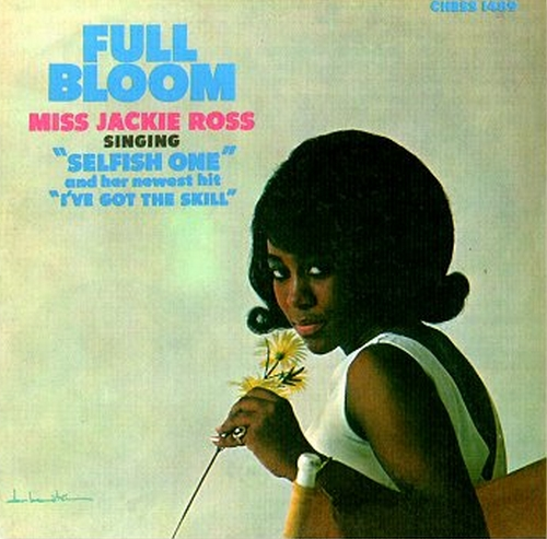 "Jackie Ross : Album "" Full Bloom "" Chess Records LP-1489 [ US ]"