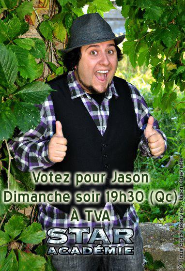 Votez pour Jason !