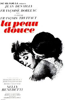 LA PEAU DOUCE - AFFICHE FRANCE