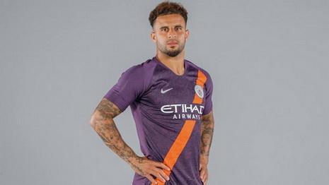 Maillot Manchester City 2019 pas cher Troisieme