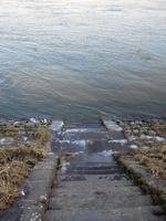Einstieg am Rheinkai