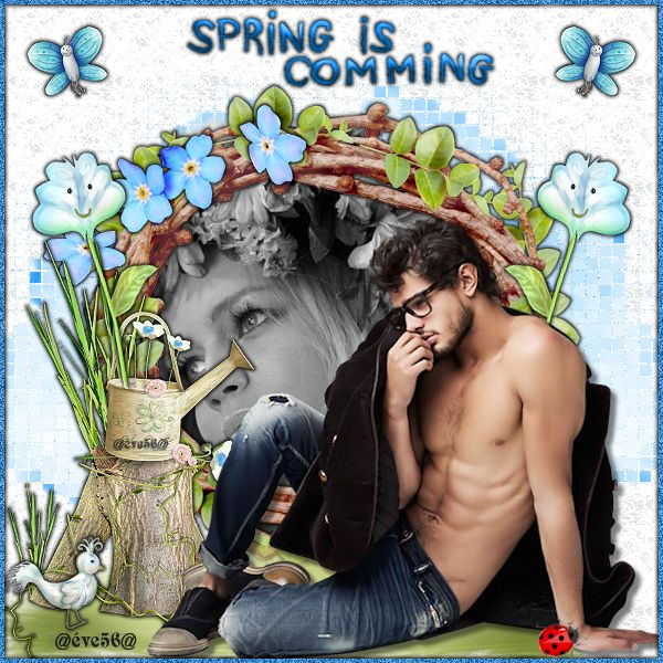 SPING IS COMMING