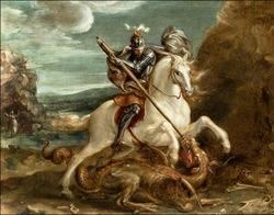 * Saint Georges et le dragon