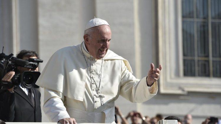 Le Pape François lors de l'audience générale du 29 août 2018.