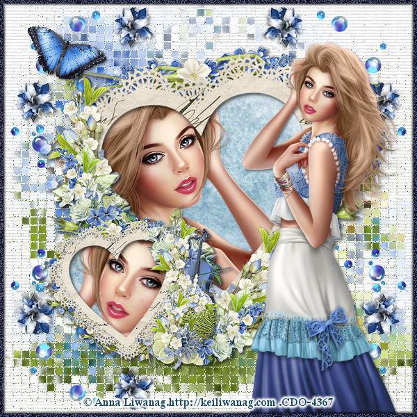 Elégance blue
