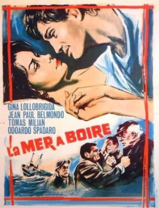 LA MER A BOIRE - JEAN PAUL BELMONDO BOX OFFICE 1964