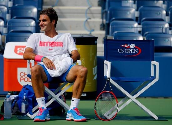 La tranquillité de Federer