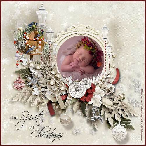 The Spirit Of Christmas by dentellescrap
