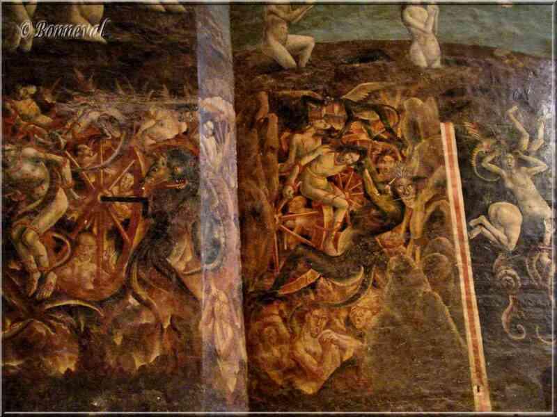 Cathédrale Sainte-Cécile d'Albi Jugement Dernier l'Enfer détail