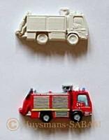camion pompier platre