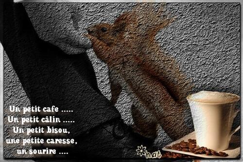 Je vous offre un p'tit café