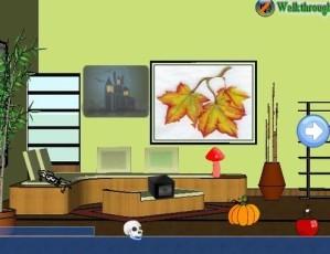 Gold room escape 6 - Halloween