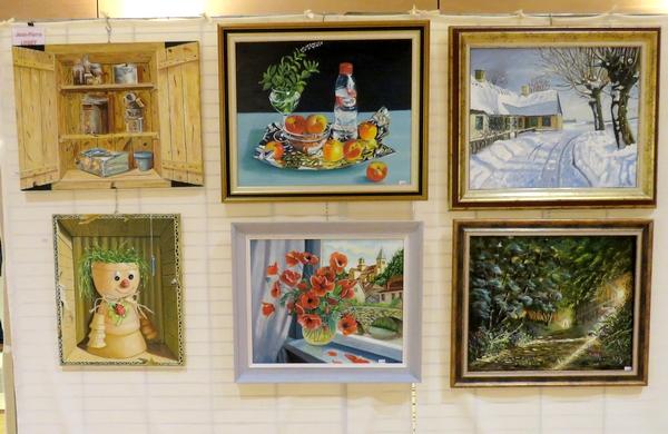 Le neuvième Salon de Peinture des Amis du Châtillonnais a présenté beaucoup de belles œuvres des artistes du Châtillonnais