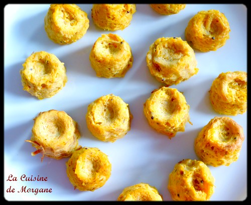 Cannelés potiron curry