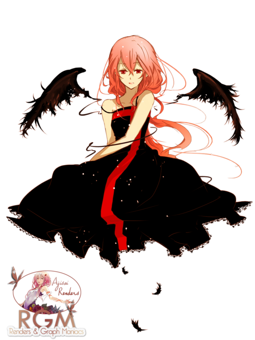 inori yuzuhira guilty crown ange noire