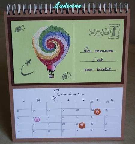 Calendrier AZZA : mois de juin -1