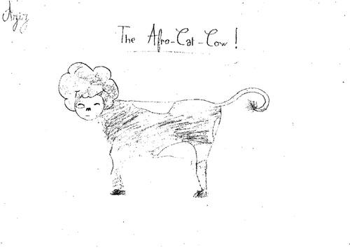 Afro Cat Cow