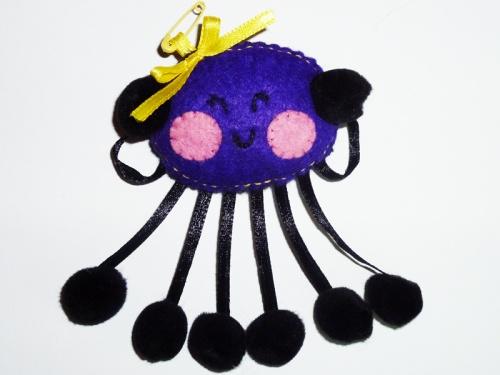 ♥ broche araignée ♥