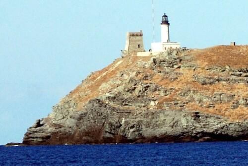 Un détail de l'île de Giraglia