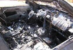 - احراق سيارة عامل ببلدية الجمعة بني حبيبي