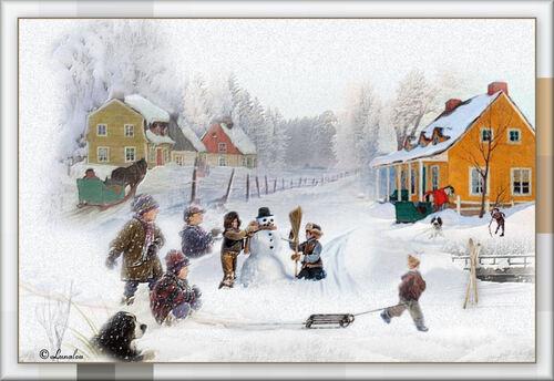 Scène d'hiver