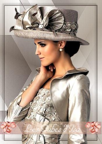 FAC0067 - Tube femme chapeau