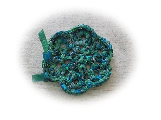 bleue et verte