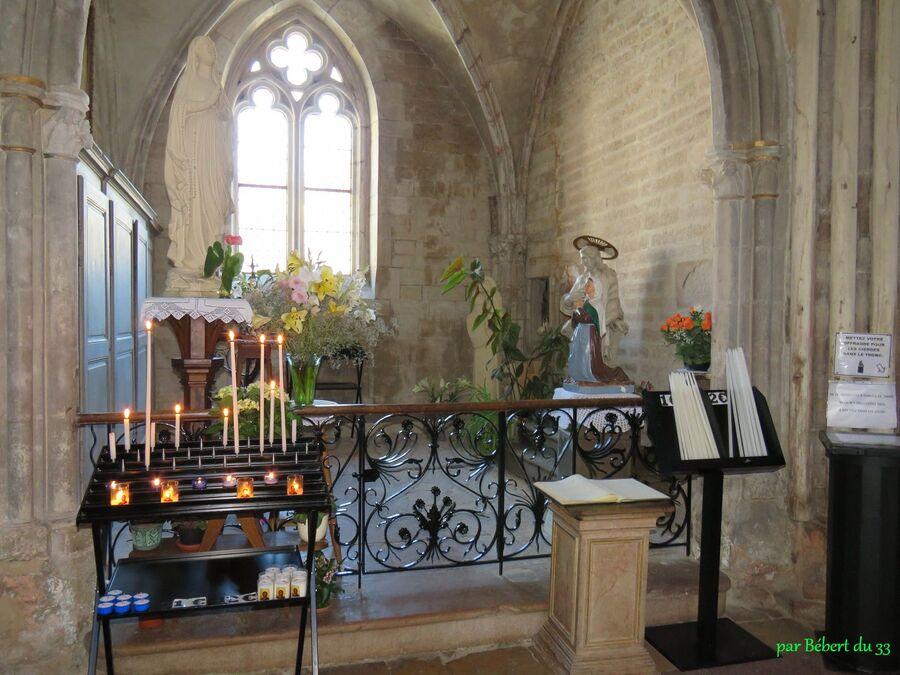 l'église N-Dame d'Auxonne