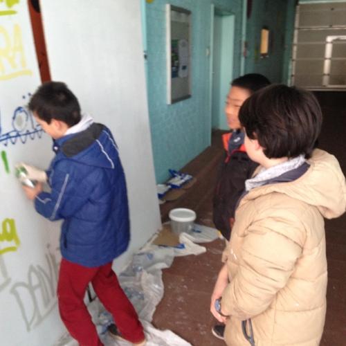 Cours de morale : Atelier créatif : Graffitti