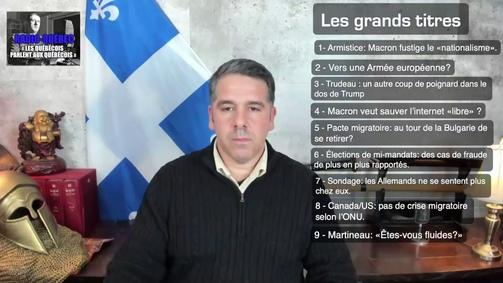 Webjournal de Radio-Québec 12 nov