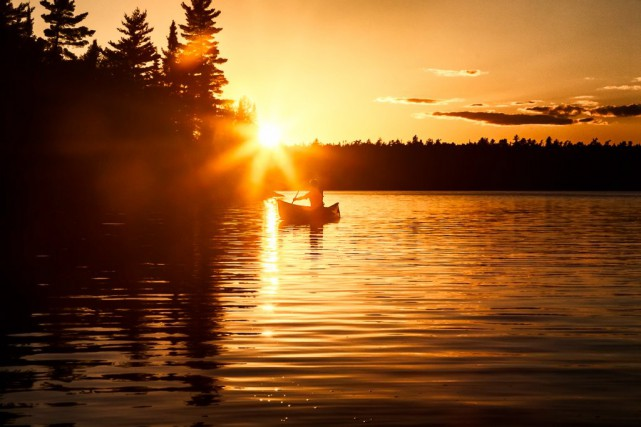 Le canot-camping est sans aucun doute la solution... (photo fournie parCanot-camping La Vérendrye)